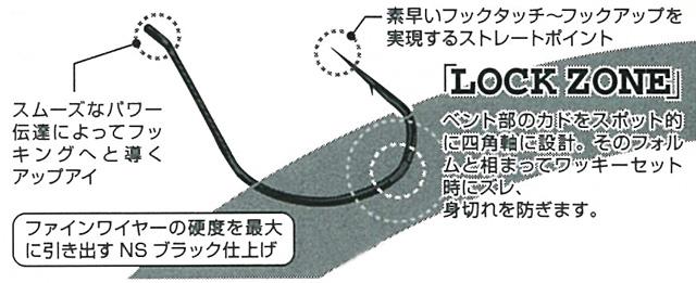 カツイチ デコイ BODY HOOK WORM23 (ボディフック WORM23)