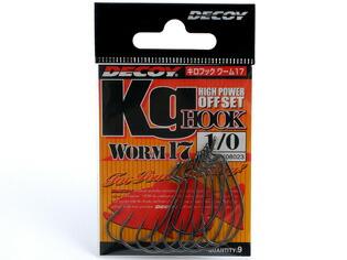 デコイ KG HOOK WORM17 (キロフック・ワーム17)