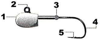 デコイ メバル Knght (メバルナイト) SV-66
