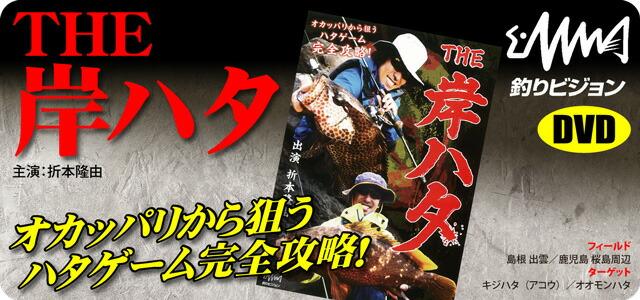 【DVD】 釣りビジョン 「THE 岸ハタ」 折本隆由