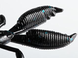 ゲーリーヤマモト エコ モコリークロー 021 ブラック/ブルーフレーク