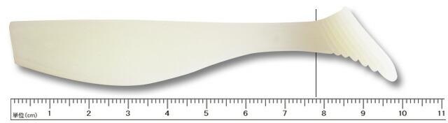 ゲーリーヤマモト 3.5インチ スイムベイト ソルトウォーター 036 ホワイト(ソリッド)