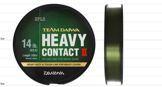 【ライン】 DAIWA BASS T.D.ライン ヘビーコンタクト II