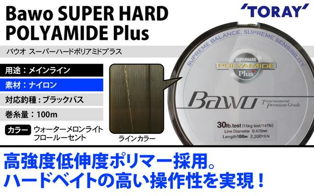 東レ(TORAY)バウオ スーパーハード ポリアミドプラス 100m