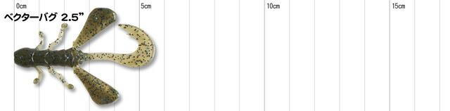 ジャッカル ベクターバグ 2.5インチ