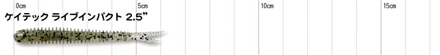 ケイテック ライブインパクト 2.5インチ