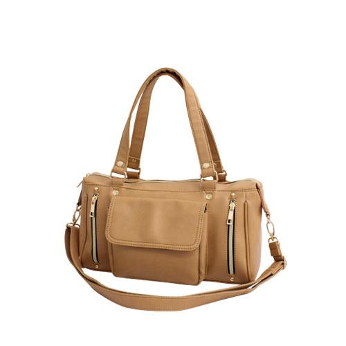 FUENTEのバッグ・鞄/ボストンバッグ|キャメル