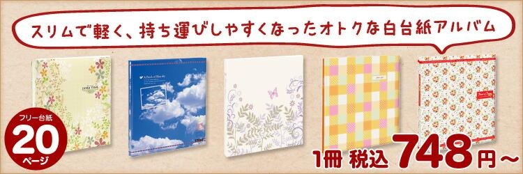 リーズナブルな台紙がふやせるビス式アルバム、台紙10枚〜