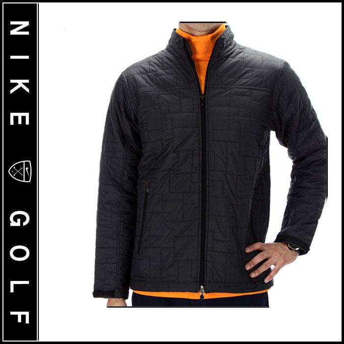 【Nike Golf】ナイキゴルフ TIGER WOODS PLATINUM キルティング ジャケット. 代金引換、配送日指定不可.
