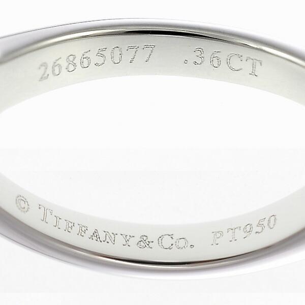 プラチナ950ダイヤモンドリング ティファニー