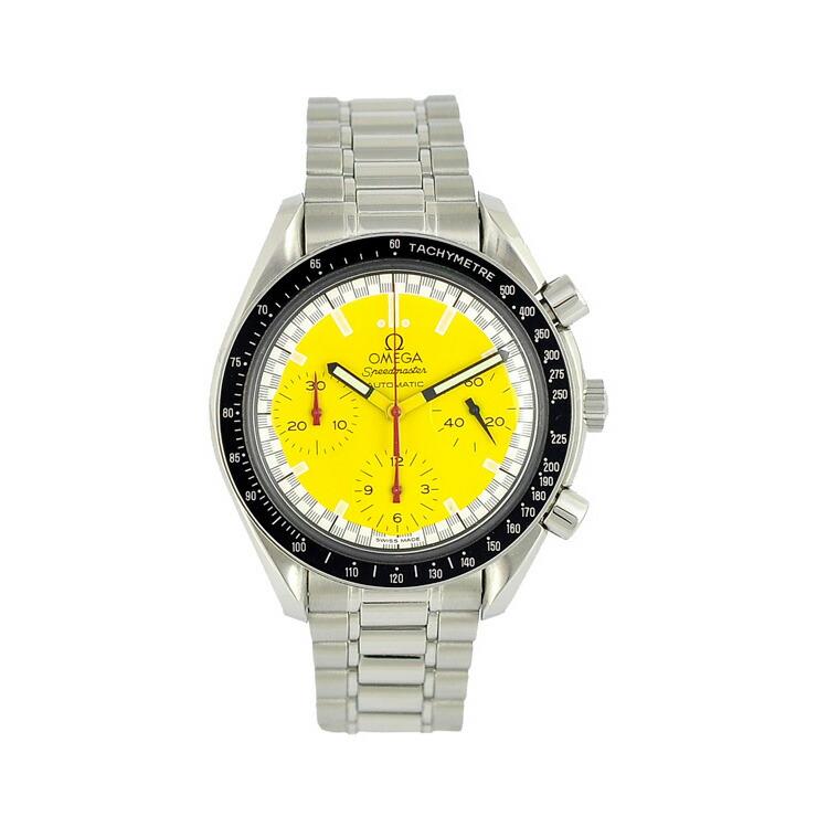 シューマッハモデルクロノグラフ メンズ腕時計 オメガ