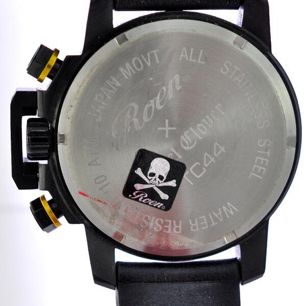 メンズ腕時計 コラボ ロエン×エンジェルクローバー