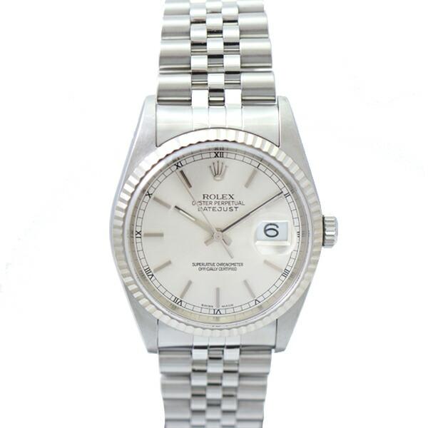 designer fashion af710 73ea1 楽天市場】【中古】 ロレックス デイトジャスト メンズ腕時計 ...