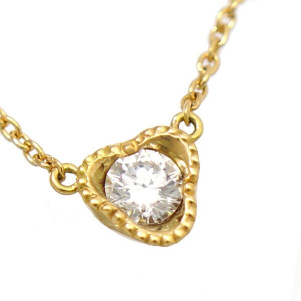 K18YG ダイヤモンド ペンダント