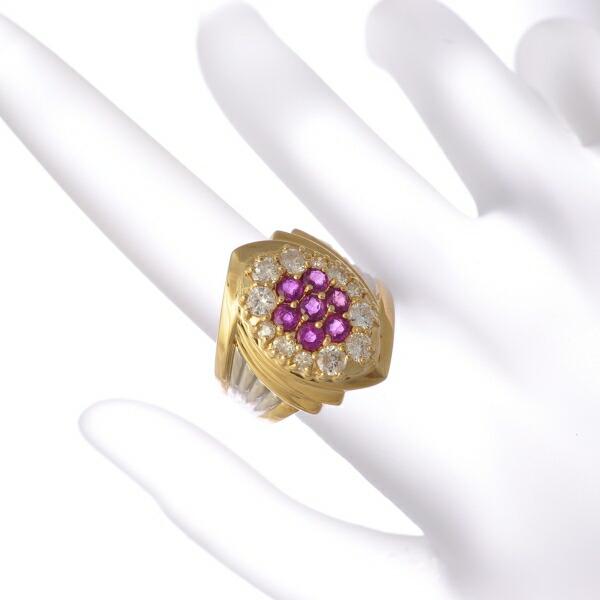 ルビー&ダイヤモンドリング
