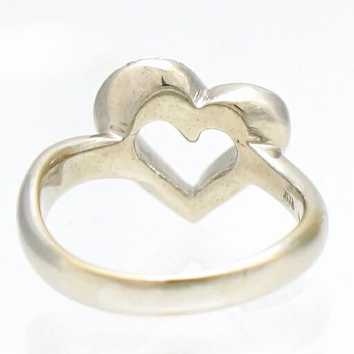 K18WG ダイヤモンド 指輪