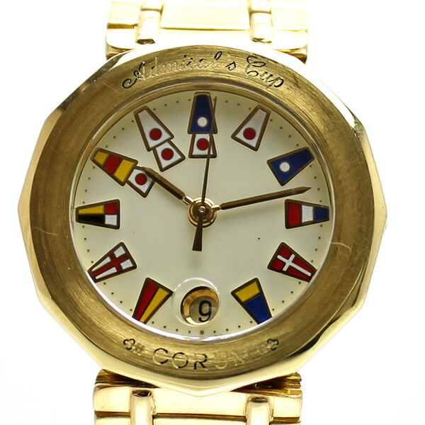 lowest price 5df9e 56e3c CORUM コルム アドミラルズカップ K18 レディース 腕時計 ...