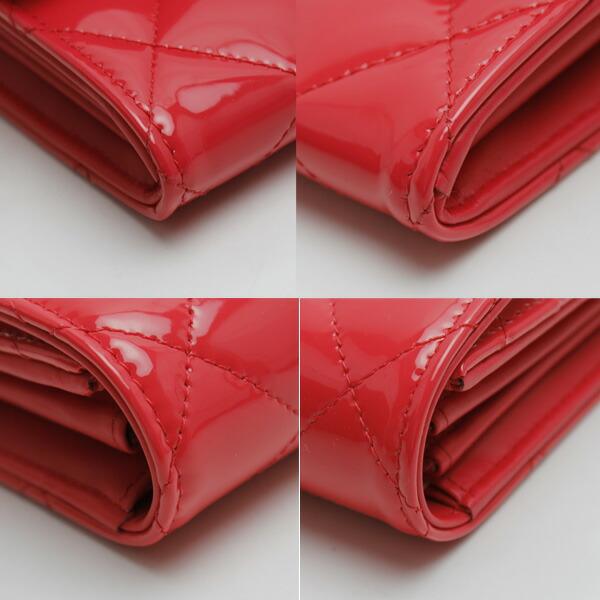 マトラッセ 二つ折り長財布 シャネル