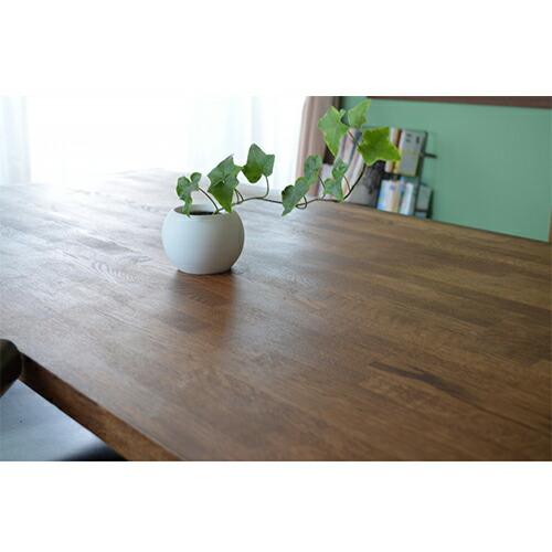 ナラ集成材のダイニングテーブル天板
