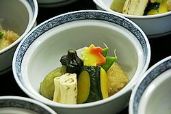 京野菜の炊き合わせ