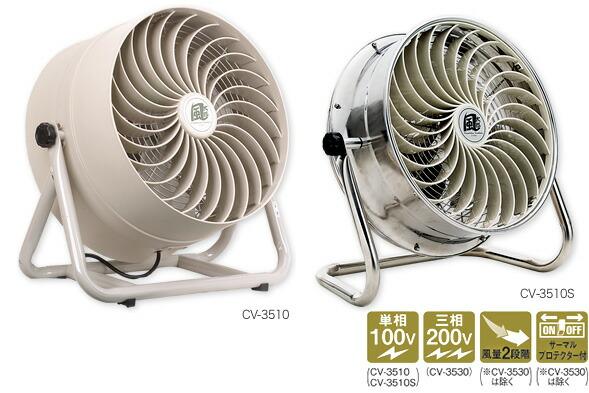 35cm SUS循環送風機 風太郎 CV-3510S(008022)