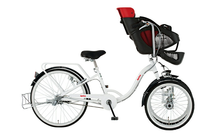 Aprica(アップリカ) 子乗せ三輪自転車 ホワイト 10507-12
