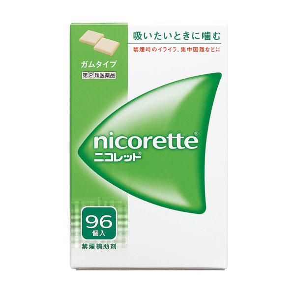 【指定第(2)類医薬品】 ニコレット(96個)