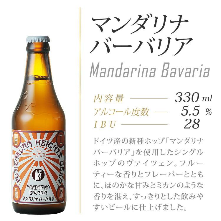 ドイツ産の新種ホップ「マンダリナバーバリア」のシングルホップで醸造したヴァイツェンです。
