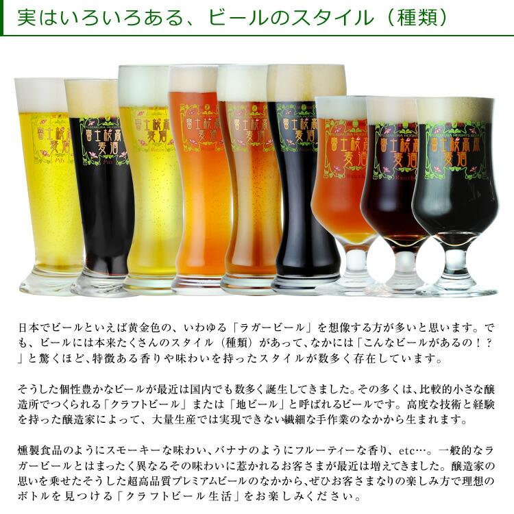 ビールの種類