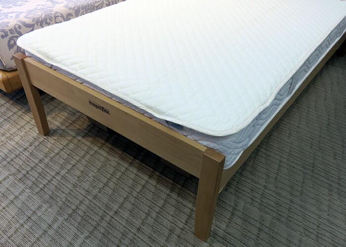 オーガニックコットン敷きパッド