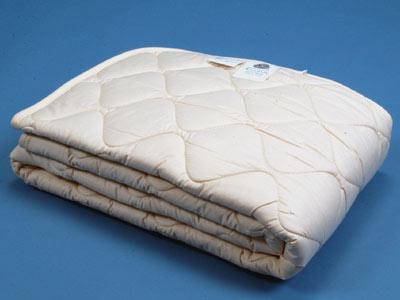洗えるウールのベッドパッド