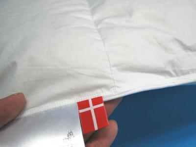 デンマーク製・ホワイトグース軽量羽毛ふとん