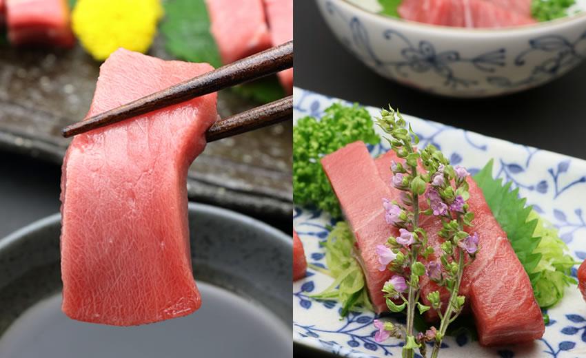 ホンマグロ 料理例