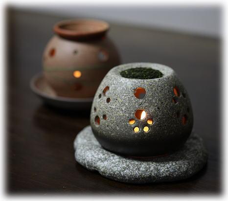 茶香炉(常滑焼)