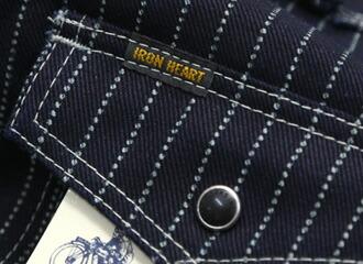 胸ポケットのビスネーム