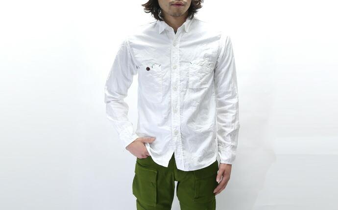 FOB FACTORY ロイヤルオックスフォードワークシャツ F3193