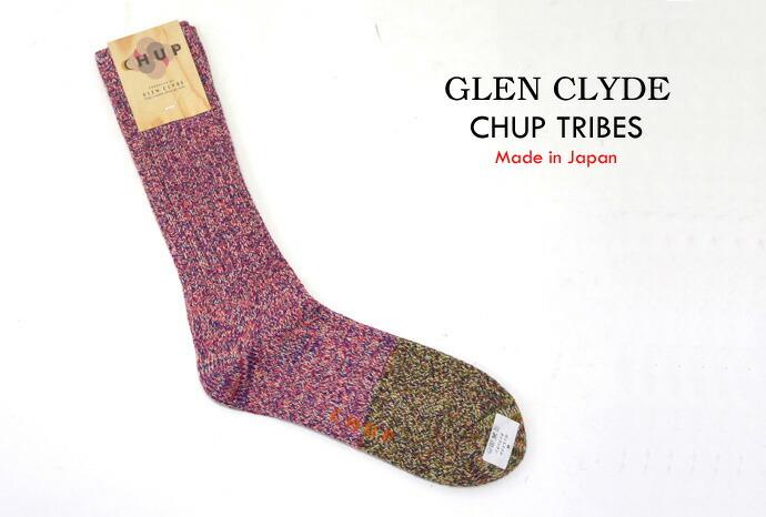 GLEN CLYDE  CHUP/チュプ TRIBES/トライブス リブソックス