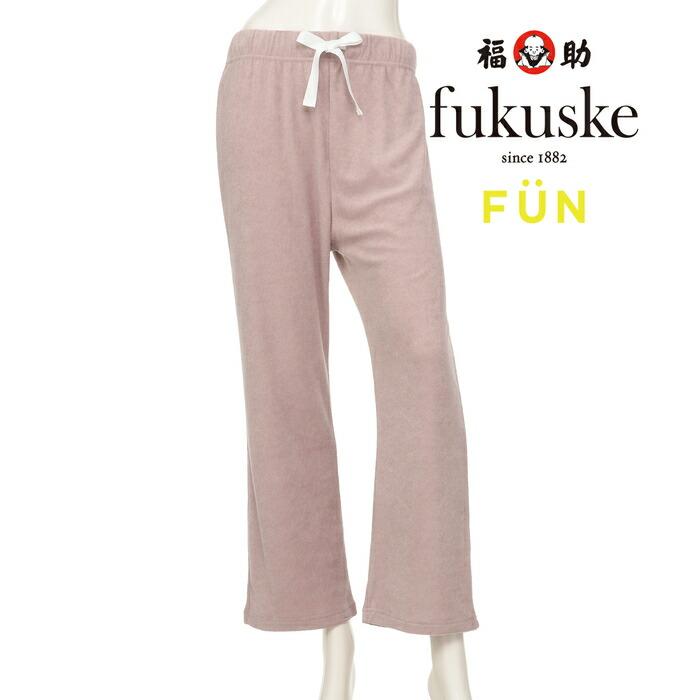 fukuske 縁取りテグス クルー丈ソックス