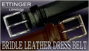 ETTINGER/BRIDLE LEATHER DRESS BELT