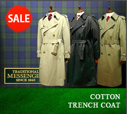COTTON TRENCH