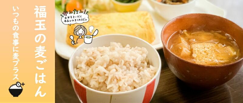 混ぜるだけでおいしい麦ごはん,食物繊維(β-グルカン),押麦,福玉麦