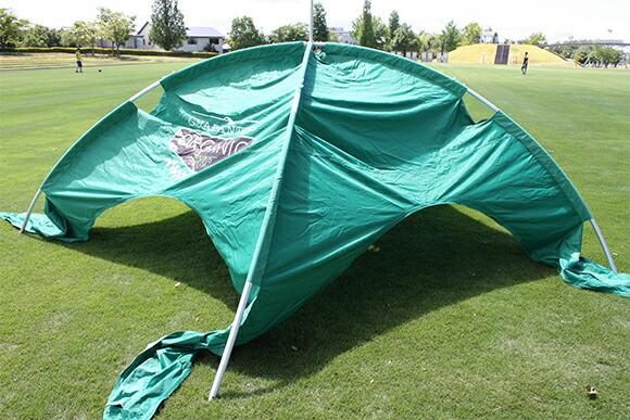 テントのセットアップ方法
