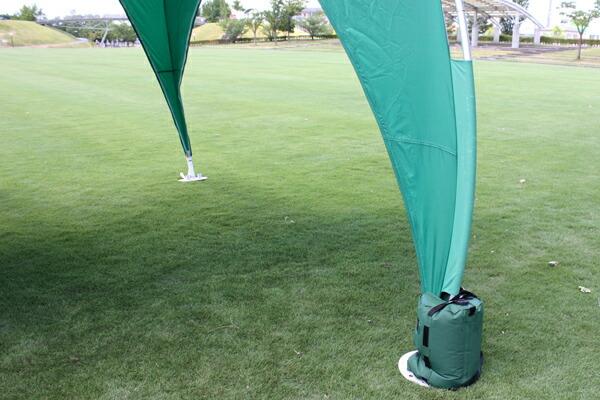 テント付属のキャリーバッグ