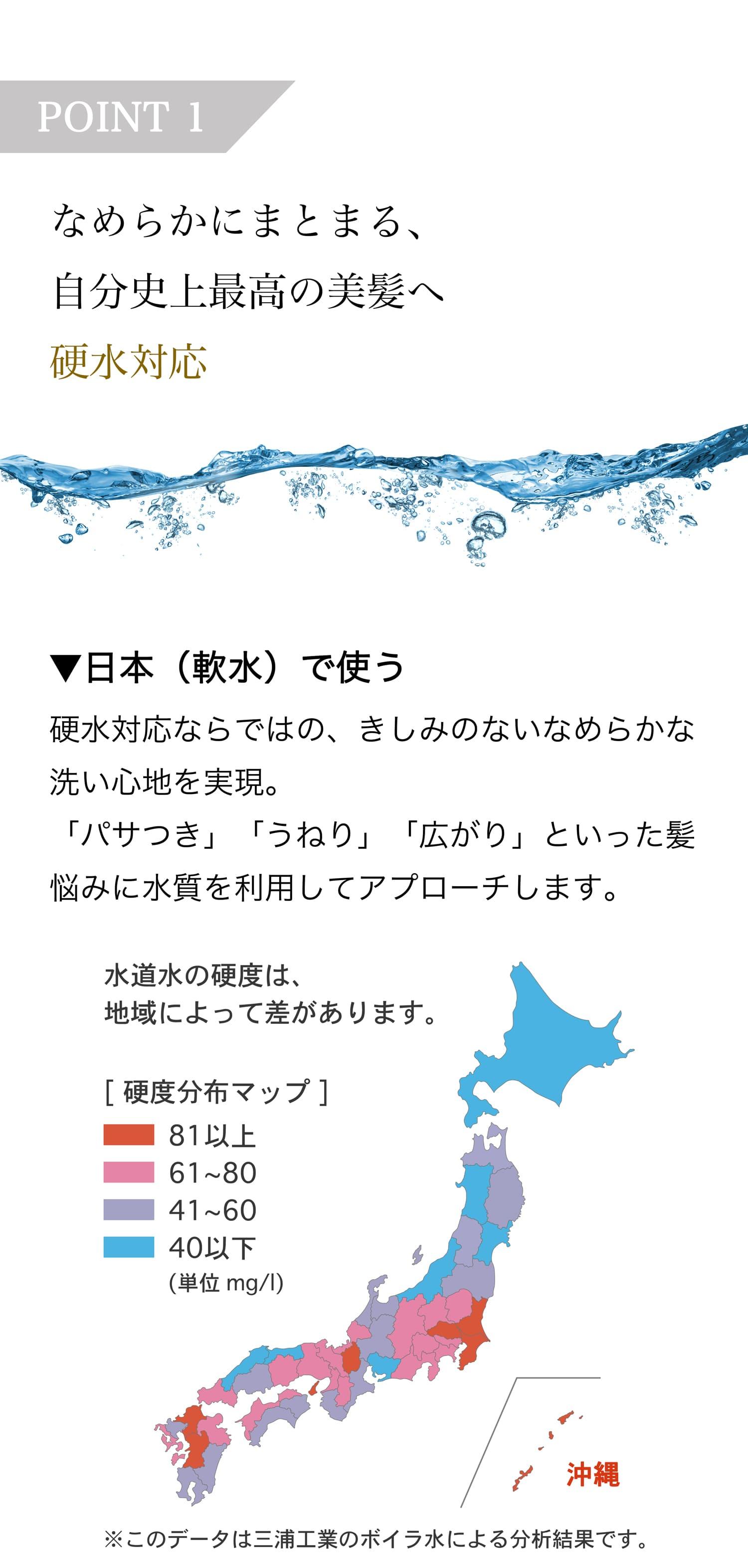 硬水対応 旅行 トラベル シャンプー