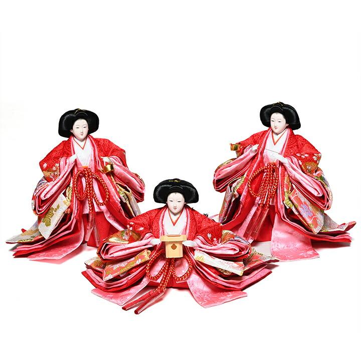 【雛人形】【ひな人形】【雛人形 五人飾】【雛人形三段飾り】