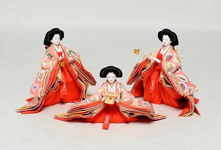 【雛人形】【十五人飾】【七段飾】