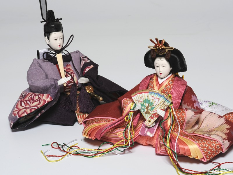 【雛人形】【ひな人形】【お雛様】【親王飾り】