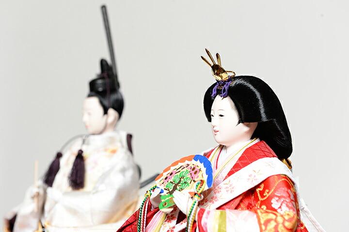 【雛人形】【ひな人形】【お雛様】【立雛】【親王飾】