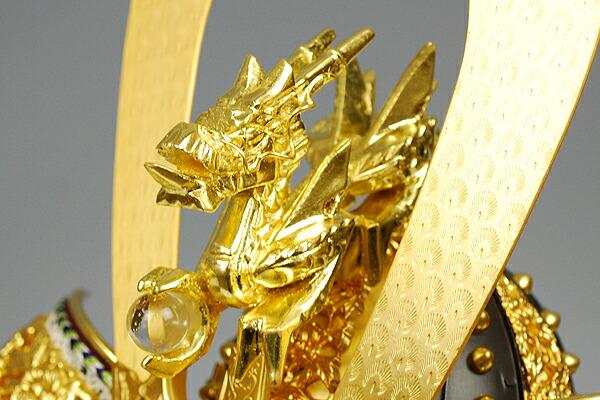 12号 錆朱糸縅龍頭之御兜 平安武久謹製