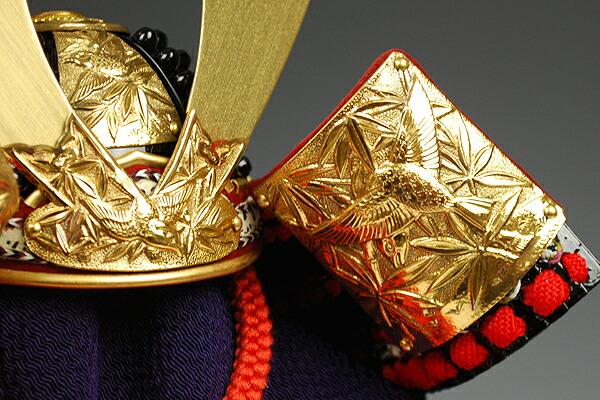 四分の一 竹雀赤糸縅之御甲冑 加藤一冑謹製